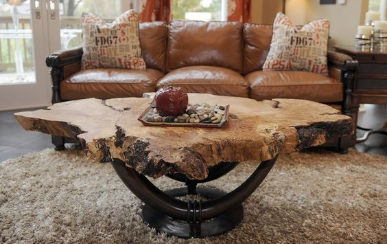 Sparks, MD--Oct. 24, 2013--This is a detail of a red maple table in the dream home of Jim and Mary Kay Mosch, which they built in 1995. staff photo/ Barbara Haddock Taylor/Baltimore Sun